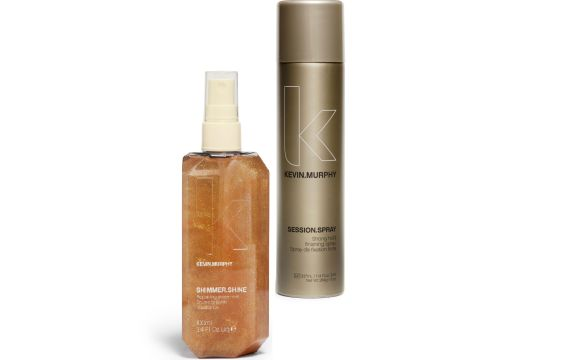 PROFF testib: KEVIN.MURPHY SHIMMER.SHINE + SESSION.SPRAY