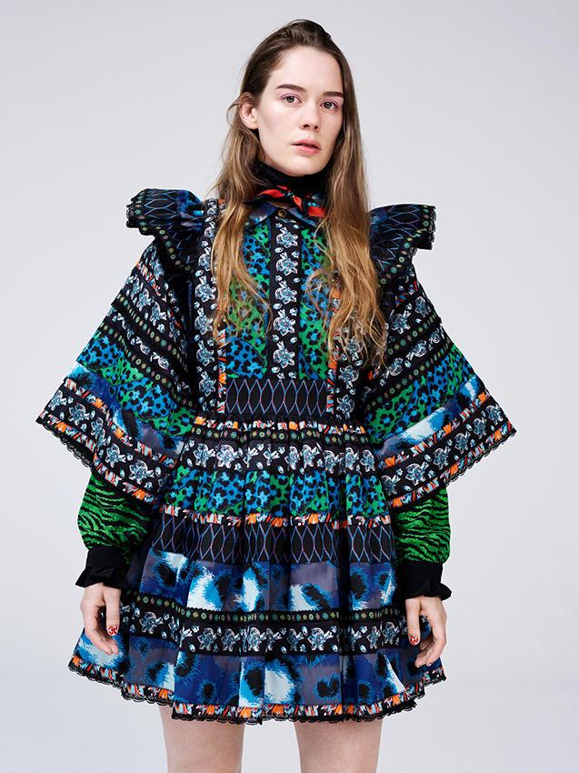 KENZO x HM kleit artist Anna of the North seljas