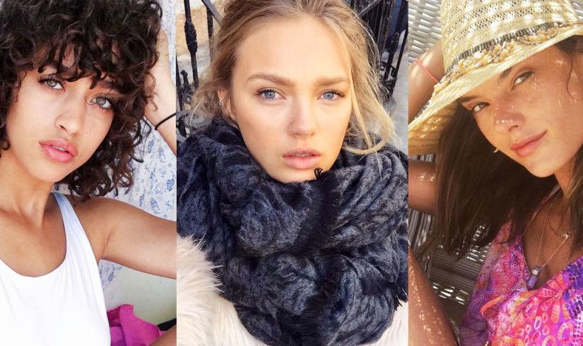 FOTOD: Millised näevad Victoria's Secreti modellid välja ILMA MEIGITA?