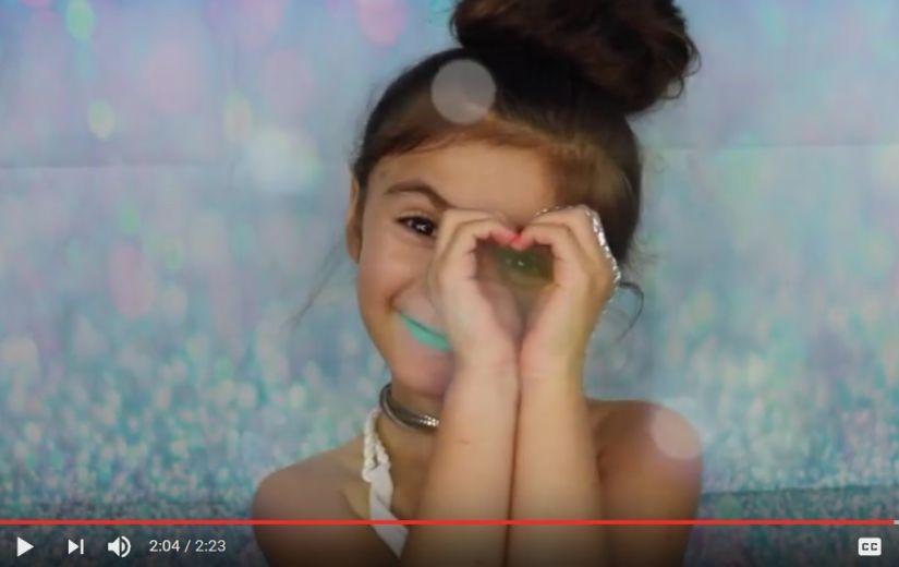 NUNNUMEETER PÕHJAS: Vaata 5aastase meigiõpetusvideot!