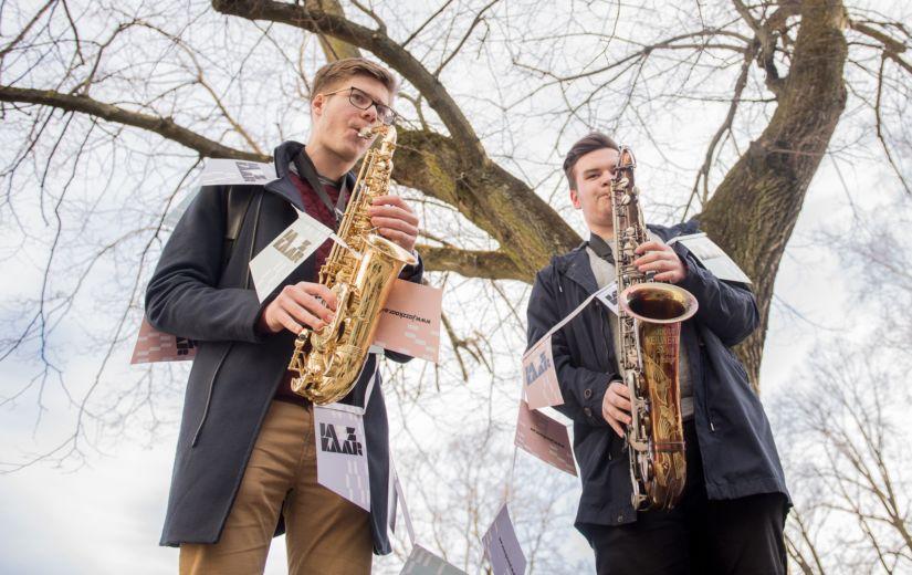 Noored jazzitalendid teevad Viru Keskuses kummarduse Eesti estraadiklassikale