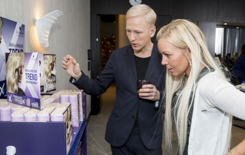 GALERII: Schwarzkopf esitles uudset juuksevärvi Color Expert