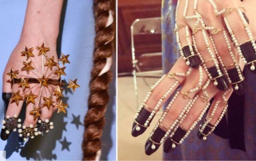 KÜÜNEDISAINI KÕRGEIM LEVEL: Gucci moelavade maniküür