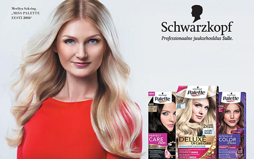 SINU VÕIMALUS: Schwarzkopf otsib Eesti neidude seast reklaamnägu