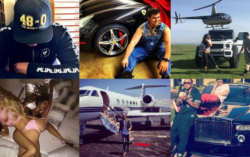 Need on Instagrami kõige rikkamad mehed
