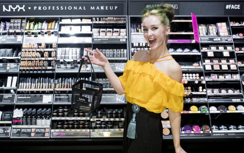 JUBA HOMME avab NYX Professional Makeup Ülemiste keskuses kõikidele huvilistele oma esimese Eesti kaupluse