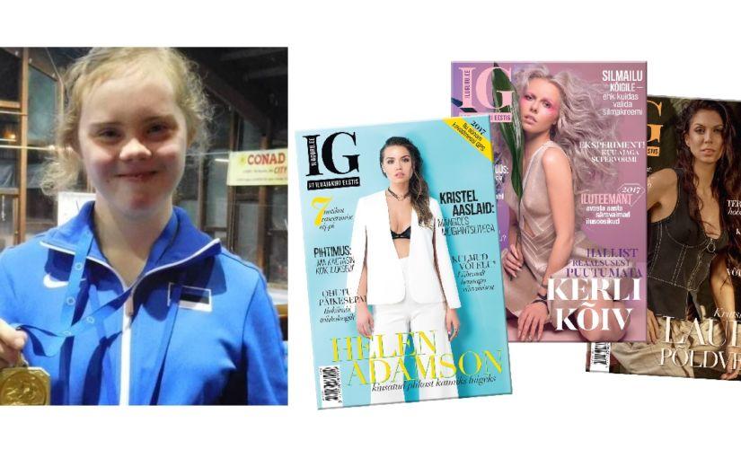 AITA MARIAT & KINGIME SULLE IG AASTATELLIMUSE: Downi sündroomiga ujuja INASe maailmameistrivõistlustele!