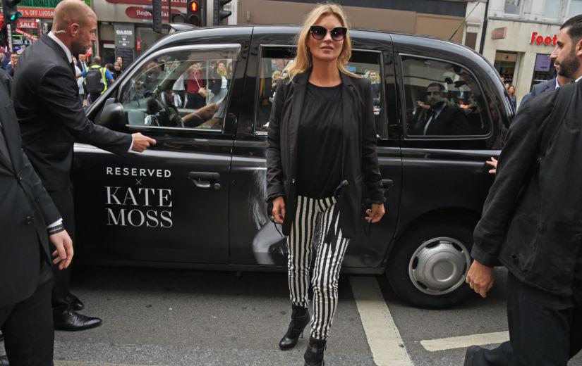 GALERII: Kate Moss peatas liikluse ja avas Reservedi esimese kaupluse Suurbritannias