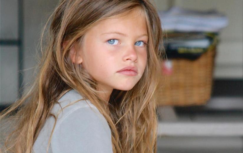 """""""Maailma kõige ilusam laps"""" on nüüd suureks saanud ja vallutab moelavasid"""