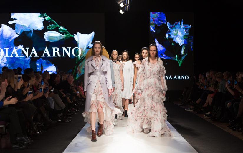 DIANA ARNO tutvustab Eesti moedisaini suurele maailmale