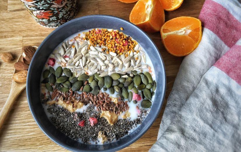 TEE ISE: Kodune mitmeviljapuder seemnetega