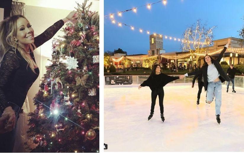PILDID: Hollywoodi staarid, kes on jõuluteemas juba täiega sees