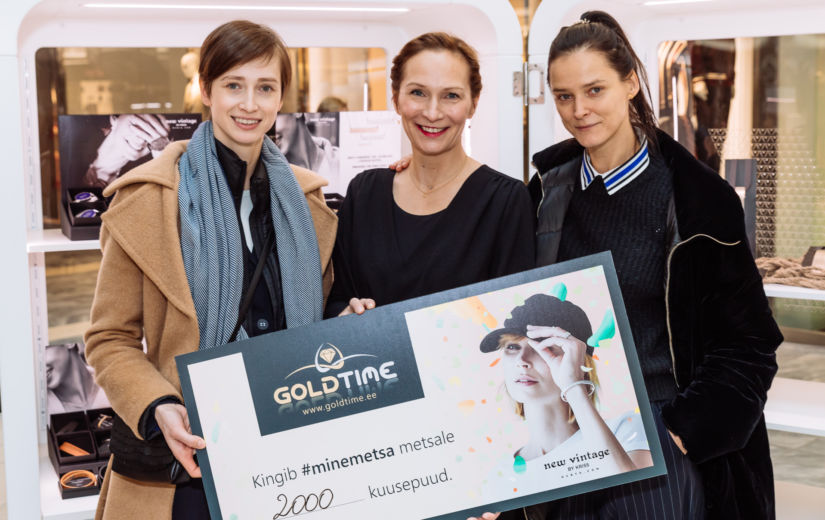 GALERII: Eesti ehtekunstnikud ja Goldtime tähistasid Viru Keskuses Vabariigi sünnipäeva