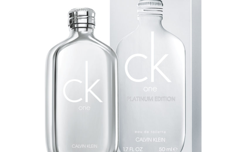 Parfüümiuudis meestele: Calvin Klein CK One Platinum Ltd edition