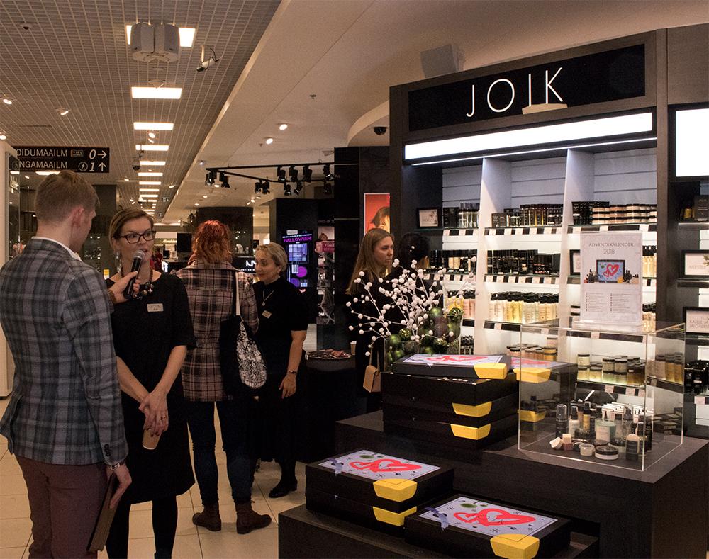 ccd66d4487b Oktoobri lõpus avas eestimaine looduskosmeetika tootja JOIK Tallinna  Kaubamajas oma uue mahuka ilu-ala, saades sellega suurima esindusega Eesti  brändiks ...