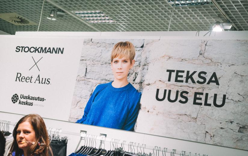 Reet Aus tutvustas Eesti esimest ringdisaini kollektsiooni